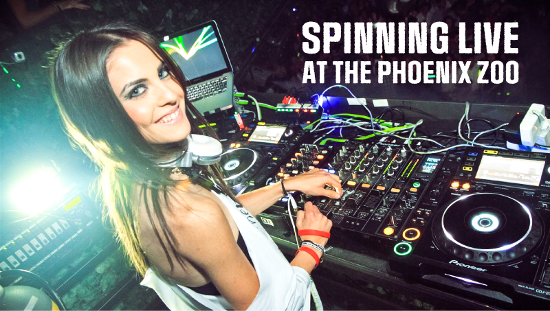 Spinning Live at the Phoenix Zoo