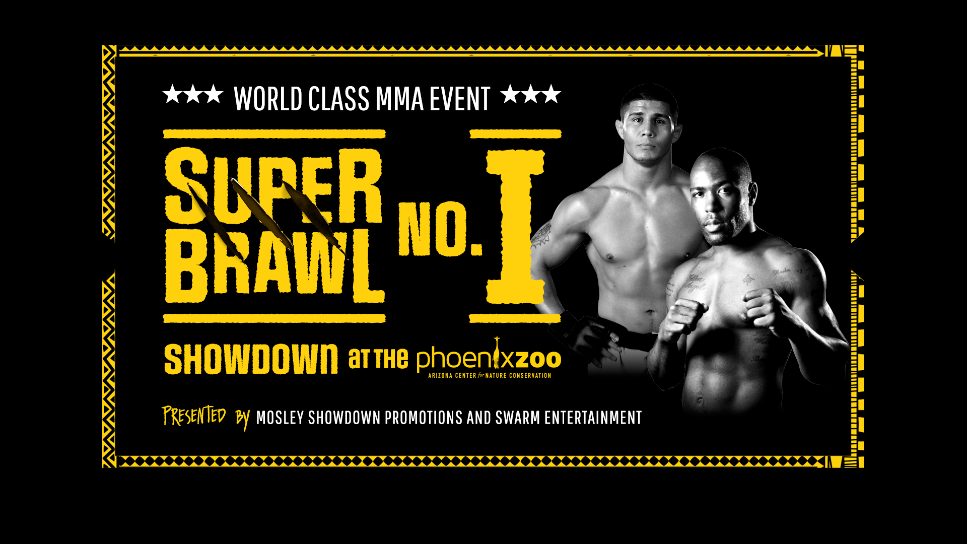 World Class MMA Fight – Super Brawl Showdown at the Zoo